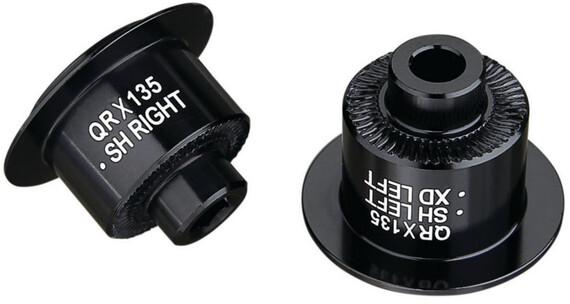 Spank Oozy/Spike Rear Hub QR Adaptor black
